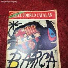Coleccionismo deportivo: REVISTA-PERIODICO EL CORREO CATALAN, ESPECIAL BARÇA, SUPLEMENTO 29 DE NOV. DE 1974 - F.C. BARCELONA . Lote 135263578