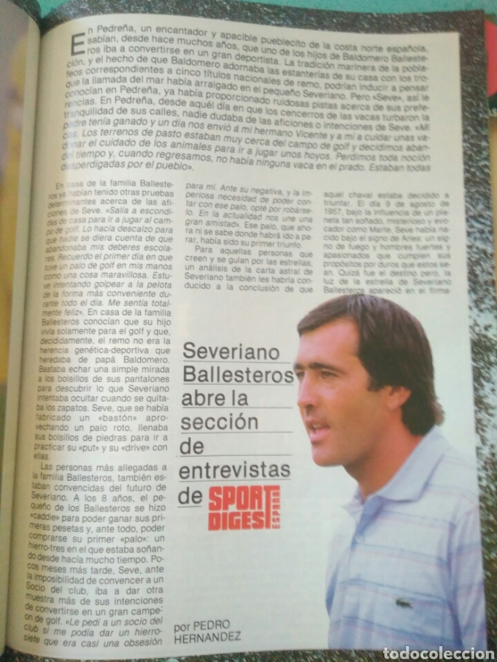 Coleccionismo deportivo: REVISTA SPORT DIGEST ESPAÑA AÑO I NUM 1.JUNIO 1987 .VER FOTOS - Foto 4 - 135324577