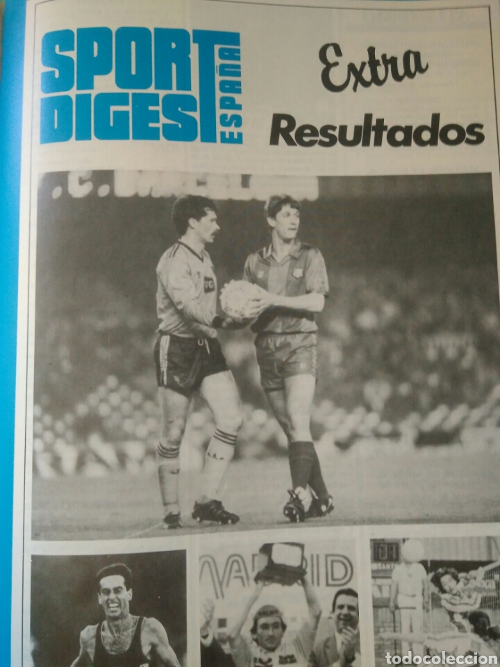 Coleccionismo deportivo: REVISTA SPORT DIGEST ESPAÑA AÑO I NUM 1.JUNIO 1987 .VER FOTOS - Foto 6 - 135324577
