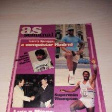 Coleccionismo deportivo: ANTIGUA REVISTA, AS SEMANAL Nº 35 - SEPTIEMBRE 1886. Lote 135468753