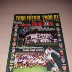 Coleccionismo deportivo: ANTIGUA REVISTA DON BALÓN, TODOFUTBOL 2000-01. Lote 135468790