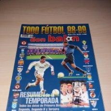 Coleccionismo deportivo: ANTIGUA REVISTA DON BALÓN, TODOFUTBOL 98-99. Lote 135468805
