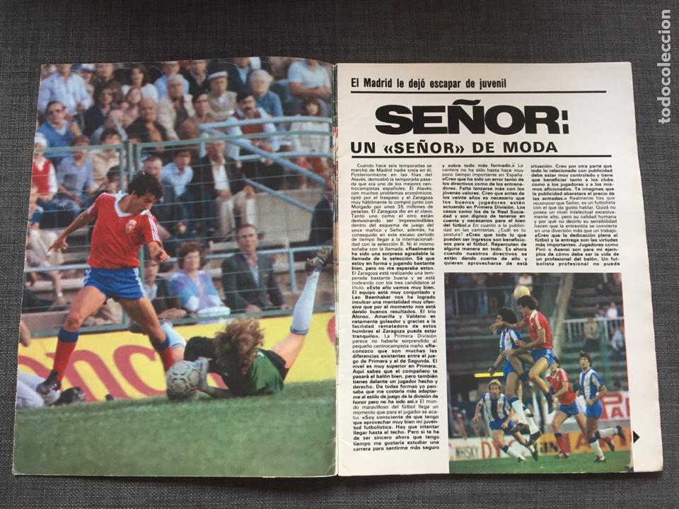 Coleccionismo deportivo: Don balón 321 - Juanito - Stielike - Schuster - Señor - as marca Madrid - Barça album cromo - Foto 2 - 135509921