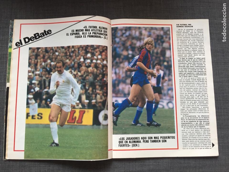 Coleccionismo deportivo: Don balón 321 - Juanito - Stielike - Schuster - Señor - as marca Madrid - Barça album cromo - Foto 3 - 135509921