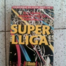 Coleccionismo deportivo: VIDEO DEL MUNDO DEPORTIVO SUPER LLIGA AÑO ,1993,94. Lote 135519558