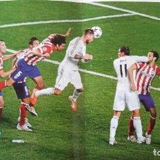 Coleccionismo deportivo: REAL MADRID CF LAMINAS COLECCION - GOL RAMOS AL ATLETICO MADRID 2013. Lote 135542650