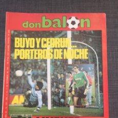 Coleccionismo deportivo: DON BALÓN 578 - LINEKER - COPAS EUROPEAS - ATLÉTICO - RIVER PLATE - ATHLETIC. Lote 135571351
