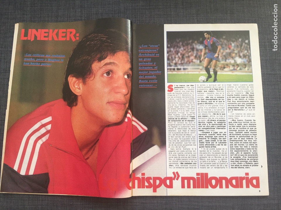 Coleccionismo deportivo: Don balón 578 - Lineker - Copas Europeas - Atlético - River Plate - Athletic - Foto 2 - 135571351