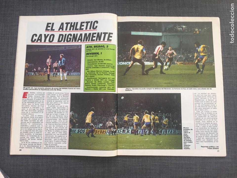 Coleccionismo deportivo: Don balón 578 - Lineker - Copas Europeas - Atlético - River Plate - Athletic - Foto 5 - 135571351