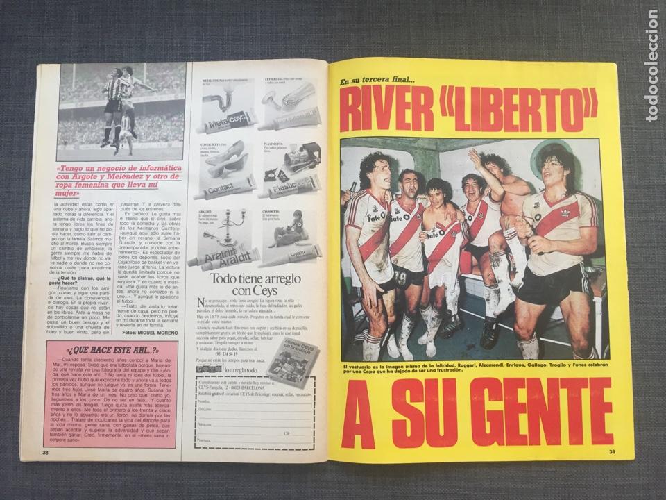 Coleccionismo deportivo: Don balón 578 - Lineker - Copas Europeas - Atlético - River Plate - Athletic - Foto 7 - 135571351