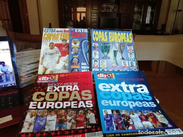 DON BALON EXTRA COPAS EUROPEAS 2007- 2008 (Coleccionismo Deportivo - Revistas y Periódicos - Don Balón)