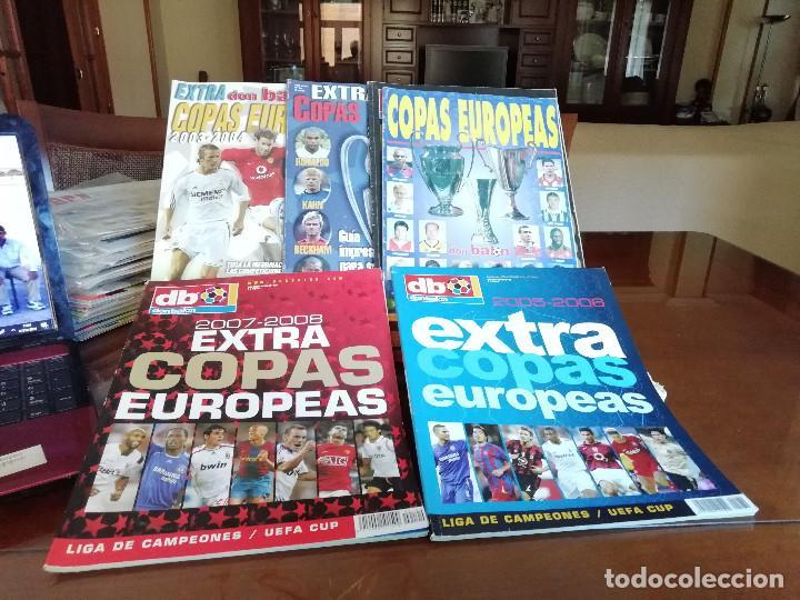 Coleccionismo deportivo: DON BALON EXTRA COPAS EUROPEAS 2007- 2008 - Foto 2 - 135571394