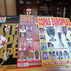 Coleccionismo deportivo: DON BALON - EXTRA COPAS EUROPEAS 2001- 2002. Lote 135571674