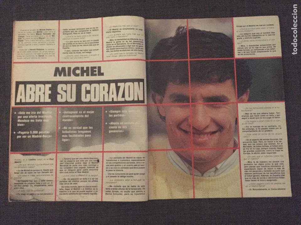 Coleccionismo deportivo: Don balón 595 - Copas Europeas - Real Madrid - Michel - Luis del Sol - - Foto 2 - 135711283