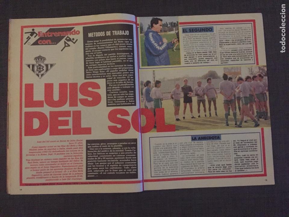 Coleccionismo deportivo: Don balón 595 - Copas Europeas - Real Madrid - Michel - Luis del Sol - - Foto 3 - 135711283