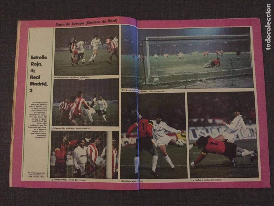 Coleccionismo deportivo: Don balón 595 - Copas Europeas - Real Madrid - Michel - Luis del Sol - - Foto 4 - 135711283
