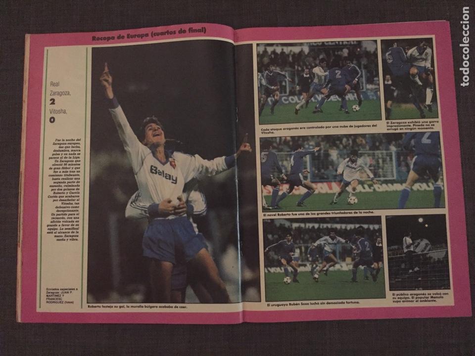 Coleccionismo deportivo: Don balón 595 - Copas Europeas - Real Madrid - Michel - Luis del Sol - - Foto 5 - 135711283