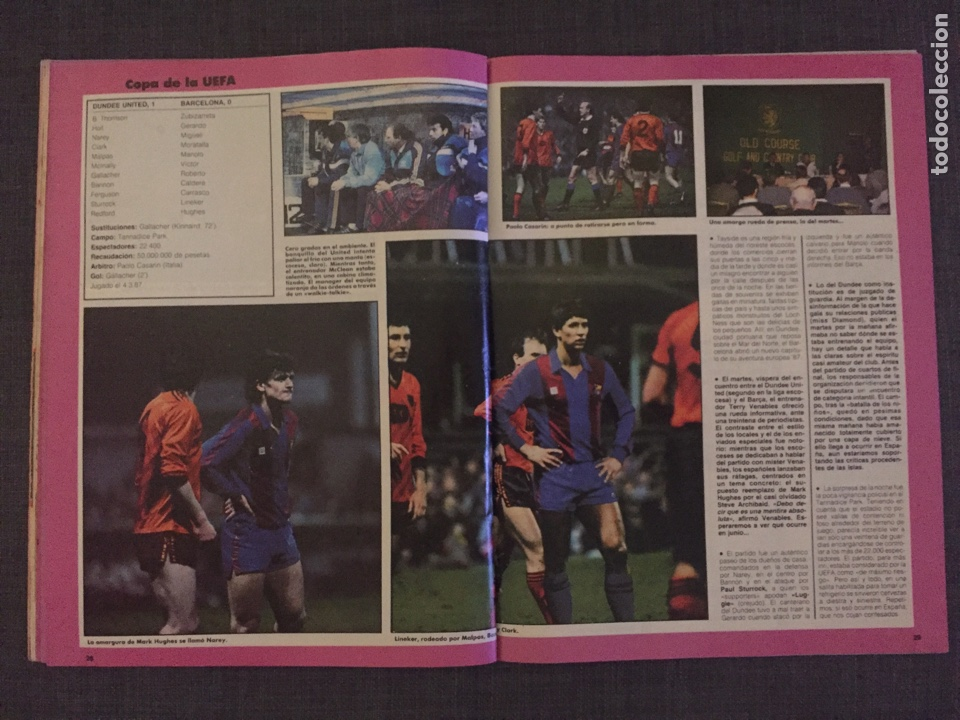 Coleccionismo deportivo: Don balón 595 - Copas Europeas - Real Madrid - Michel - Luis del Sol - - Foto 6 - 135711283