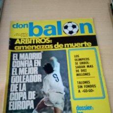 Colecionismo desportivo: REVISTA DON BALÓN. Nº 26. Lote 220391467