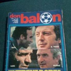 Collectionnisme sportif: REVISTA DON BALÓN. Nº 201. Lote 135770002