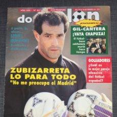 Coleccionismo deportivo: DON BALÓN 851 - ATLÉTICO - PÓSTER BEGUIRISTAIN - COMPOSTELA - DERTYCIA - ZUBIZARRETA. Lote 135781033