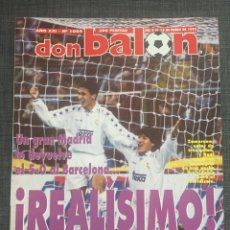 Coleccionismo deportivo: DON BALÓN 1004 - REAL MADRID - PÓSTER ESPANYOL - KLUIVERT - LIVERPOOL. Lote 135795273