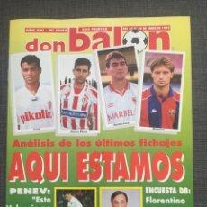 Coleccionismo deportivo: DON BALÓN 1006 - PÓSTER CELTA VIGO - LE TISSIER - SELECCIÓN ESPAÑOLA - PENEV. Lote 135796143