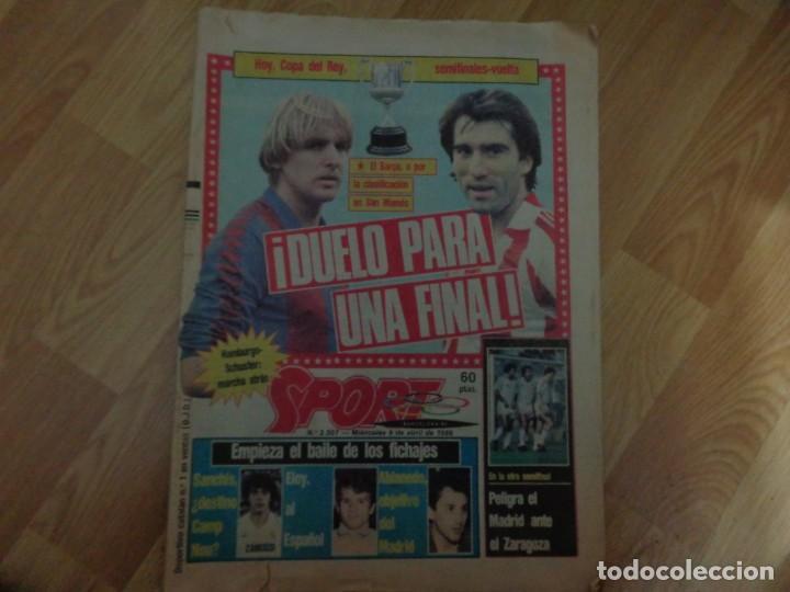 DIARIO SPORT 1986 (Coleccionismo Deportivo - Revistas y Periódicos - Sport)