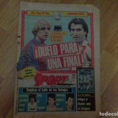 Coleccionismo deportivo: DIARIO SPORT 1986. Lote 135799254