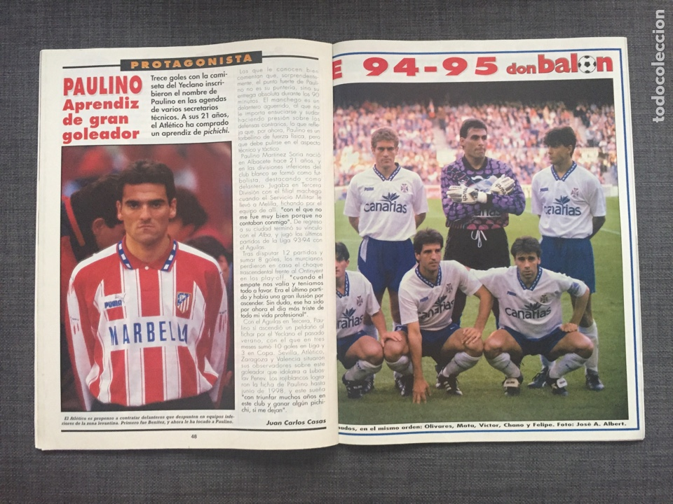 Coleccionismo deportivo: Don balón 1008 - póster Tenerife - Real Madrid - Alfonso - Dumitrscu Sevilla - Cruyff - Osasuna - Foto 4 - 135816081