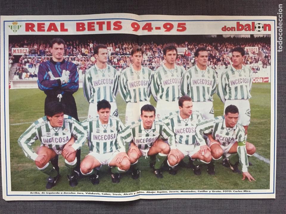 DON BALÓN 1015 - PÓSTER BETIS - HÉRCULES (Coleccionismo Deportivo - Revistas y Periódicos - Don Balón)