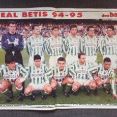 Coleccionismo deportivo: DON BALÓN 1015 - PÓSTER BETIS - HÉRCULES. Lote 135928997
