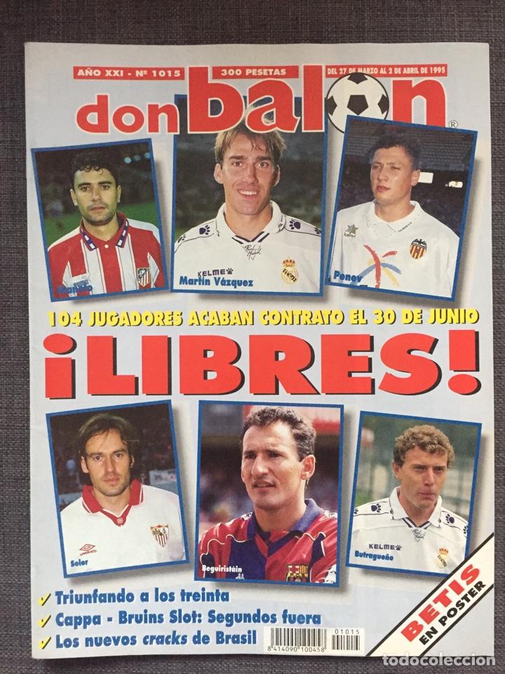 Coleccionismo deportivo: Don Balón 1015 - Póster Betis - Hércules - Foto 2 - 135928997