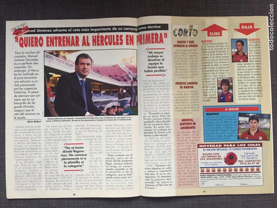 Coleccionismo deportivo: Don Balón 1015 - Póster Betis - Hércules - Foto 3 - 135928997