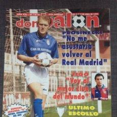 Coleccionismo deportivo: DON BALÓN 1016 - PÓSTER AMAVISCA - PROSINECKI - ZARAGOZA VS CHELSEA - FIGO. Lote 135931058