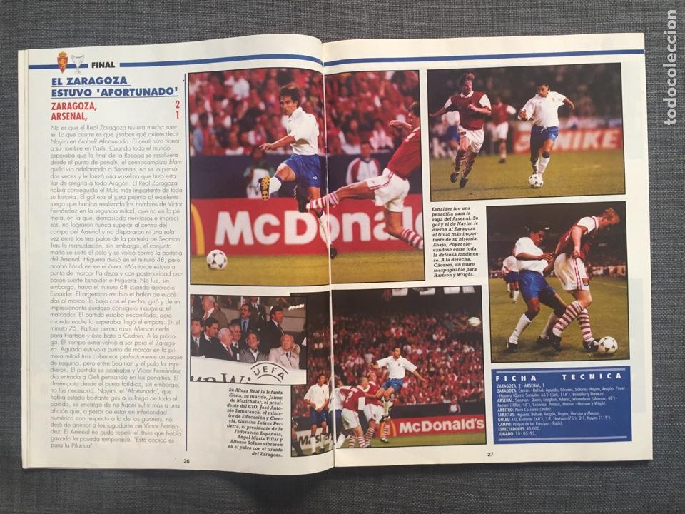 Coleccionismo deportivo: Don balón 1022 - Zaragoza campeón Recopa reportaje y póster - final champions Milán y Ajax - Foto 2 - 136092528