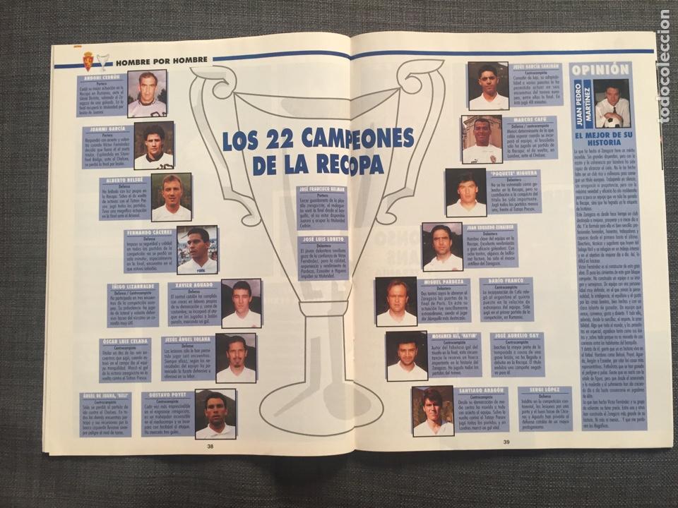 Coleccionismo deportivo: Don balón 1022 - Zaragoza campeón Recopa reportaje y póster - final champions Milán y Ajax - Foto 4 - 136092528