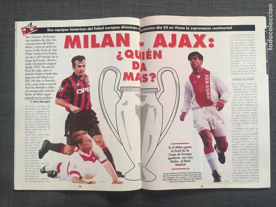 Coleccionismo deportivo: Don balón 1022 - Zaragoza campeón Recopa reportaje y póster - final champions Milán y Ajax - Foto 5 - 136092528
