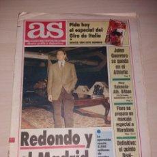 Coleccionismo deportivo: ANTIGUO PERIÓDICO AS - CD TENERIFE EN SU ÉPOCA UEFA. Lote 136122946