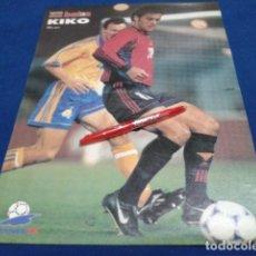 Coleccionismo deportivo: POSTER DON BALON FRACIA 98 ( KIKO ) . Lote 136153214