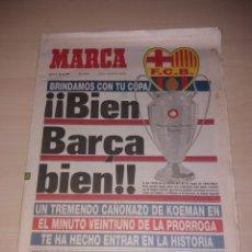 Colecionismo desportivo: ANTIGUO PERIÓDICO MARCA - FC BARCELONA - CAMPEÓN CHAMPIONS 1992. Lote 172286567