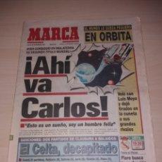 Coleccionismo deportivo: ANTIGUO PERIÓDICO MARCA - 1992 - CARLOS SAINZ. Lote 136158873