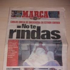 Coleccionismo deportivo: ANTIGUO PERIÓDICO MARCA - 1998 - CARLOS CHECA. Lote 136159278