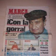 Coleccionismo deportivo: ANTIGUO PERIÓDICO MARCA - 1996 - JESÚS GIL. Lote 136159326