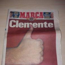 Coleccionismo deportivo: ANTIGUO PERIÓDICO MARCA - 1998 - CLEMENTE. Lote 136159381