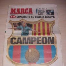 Coleccionismo deportivo: ANTIGUO PERIÓDICO MARCA - 1997 - FC BARCELONA CAMPEÓN RECOPA. Lote 136161825