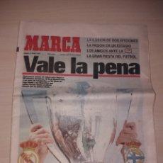 Coleccionismo deportivo: ANTIGUO PERIÓDICO MARCA - 1995 - REAL MADRID - DEPORTIVO. Lote 136161965