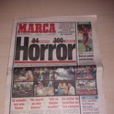 Coleccionismo deportivo: ANTIGUO PERIÓDICO MARCA - 1996 - RONALDO. Lote 136162120