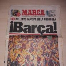 Coleccionismo deportivo: ANTIGUO PERIÓDICO MARCA - 1997 - FC BARCELONA CAMPEÓN COPA. Lote 136162201