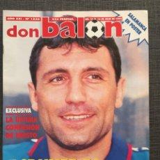 Coleccionismo deportivo: DON BALÓN 1030 - PÓSTER SALAMANCA - BARCELONA - STOICHKOV - DJUKIC - REYES DE EUROPA - SAN LORENZO. Lote 136172504